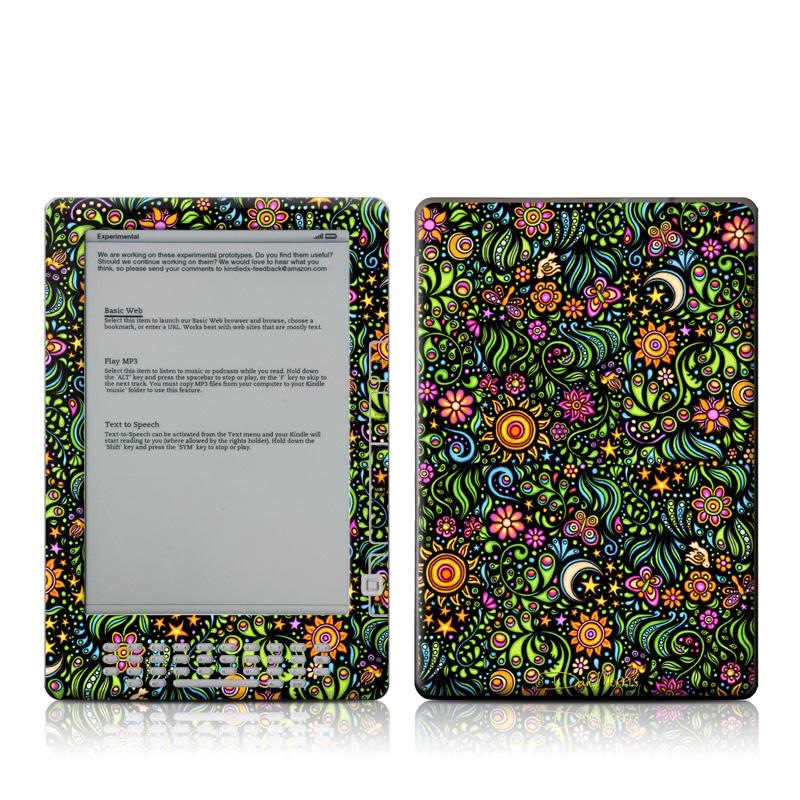 Nature Ditzy Amazon Kindle DX Skin
