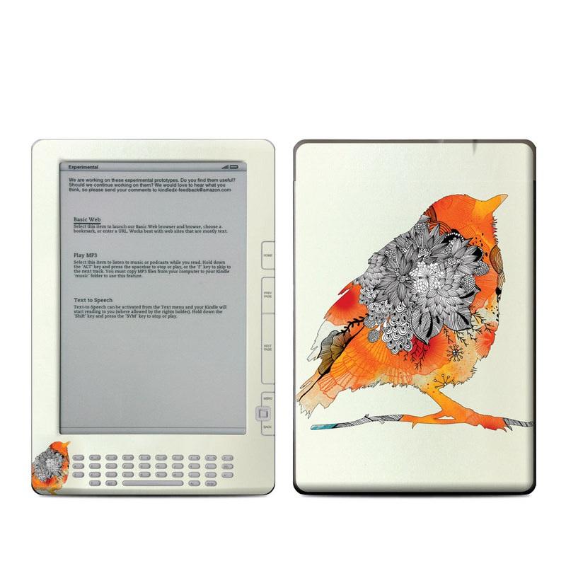 Orange Bird Amazon Kindle DX Skin
