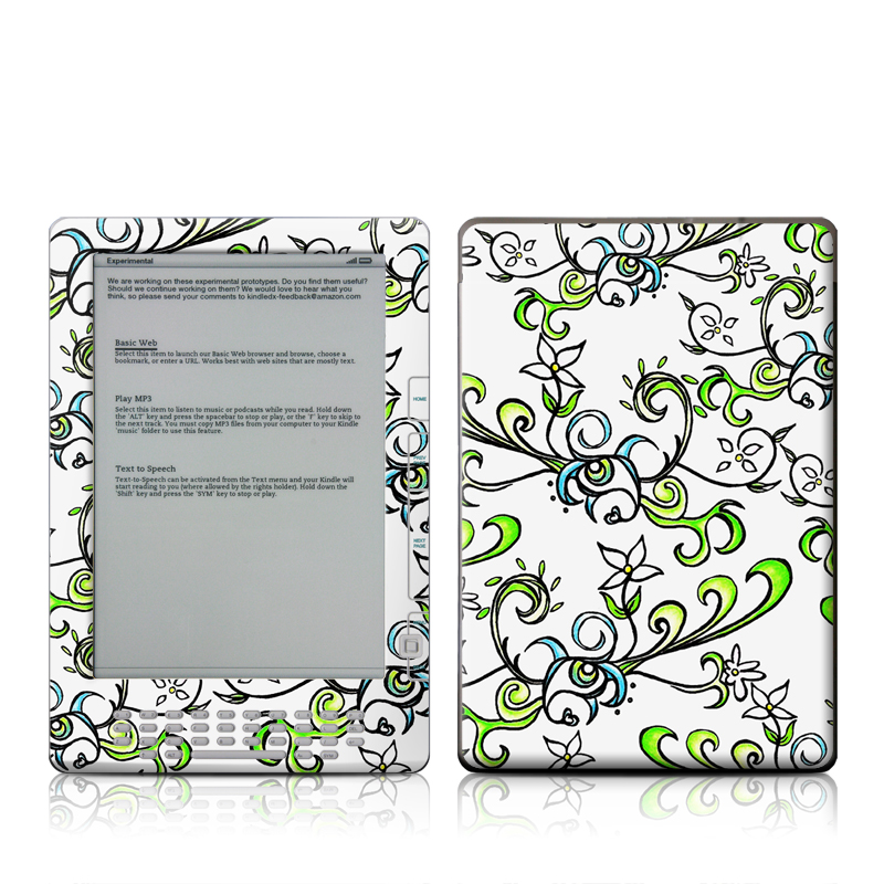 Olga Amazon Kindle DX Skin