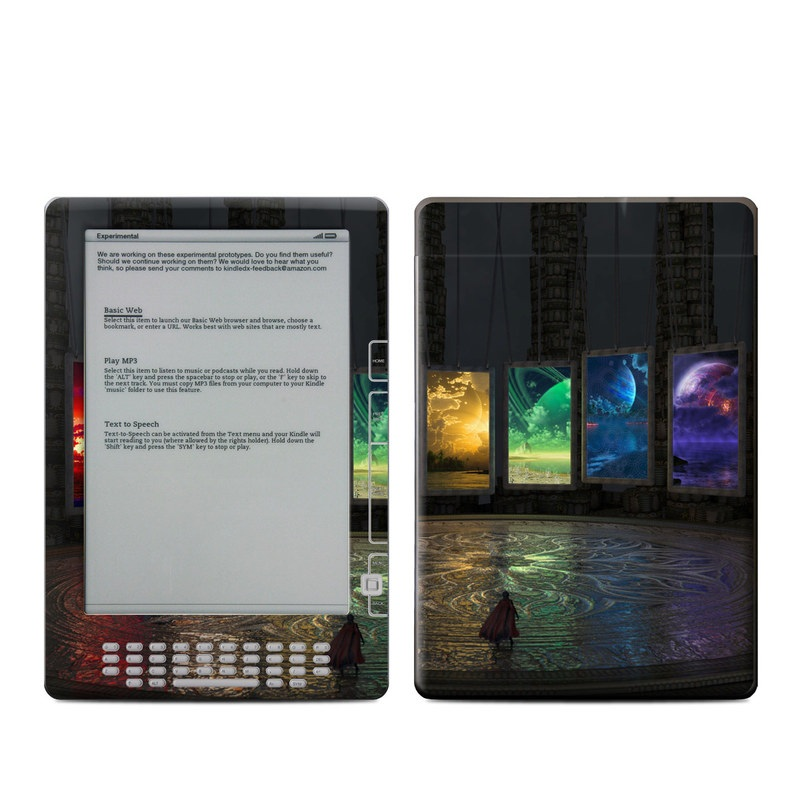 Portals Amazon Kindle DX Skin