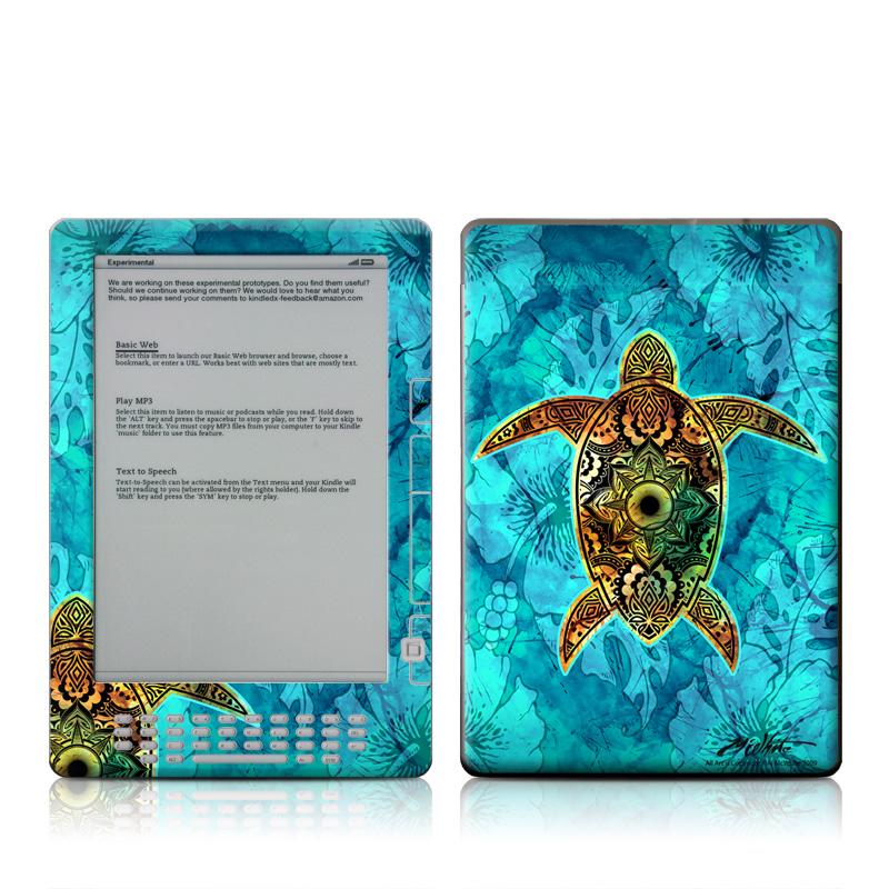 Sacred Honu Amazon Kindle DX Skin