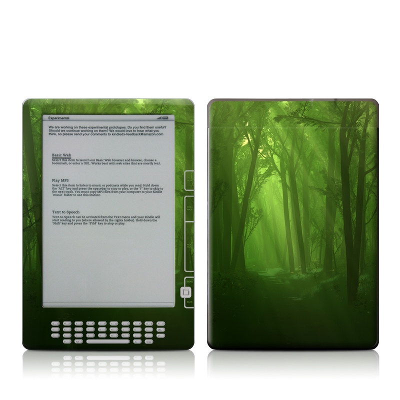 Spring Wood Amazon Kindle DX Skin