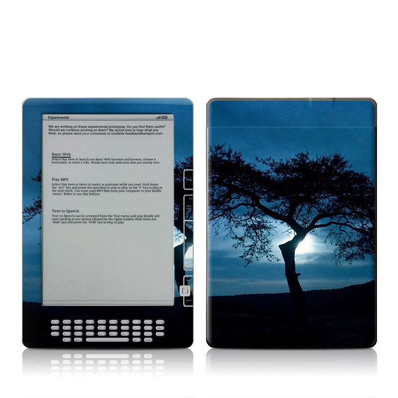 Stand Alone Amazon Kindle DX Skin
