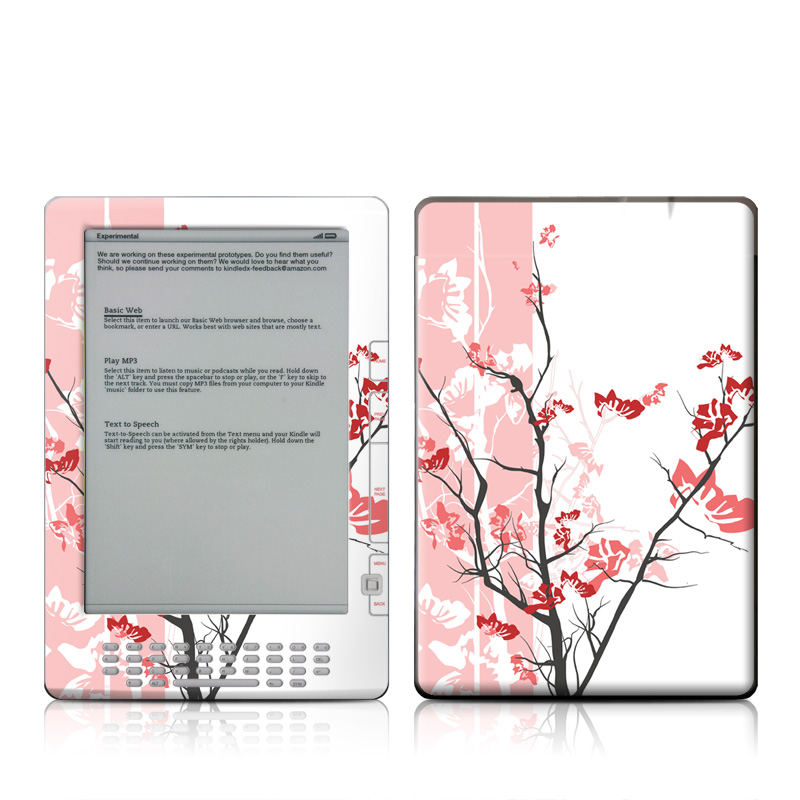 Pink Tranquility Amazon Kindle DX Skin