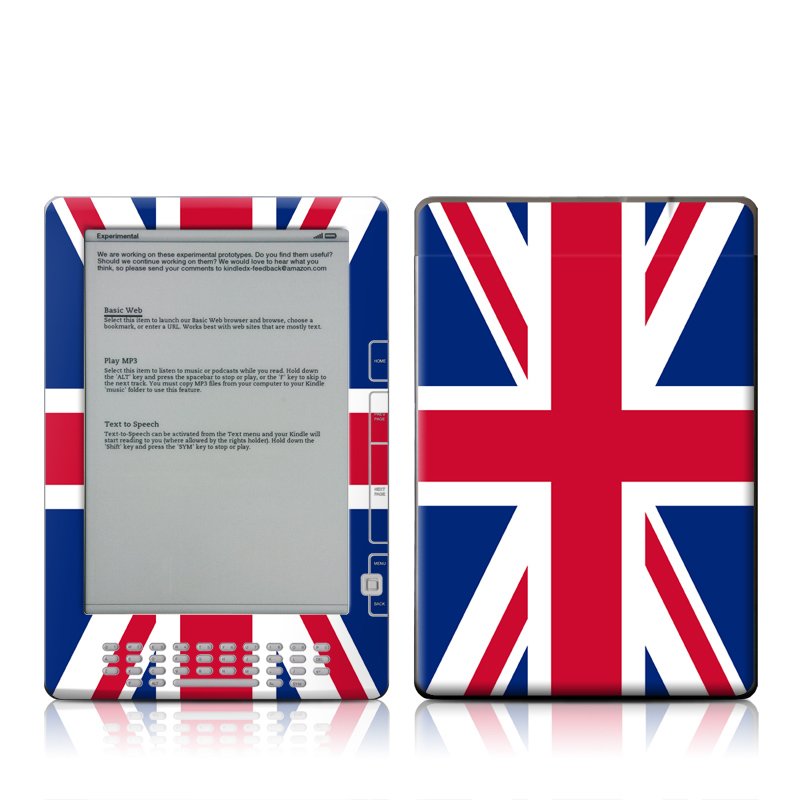 Union Jack Amazon Kindle DX Skin