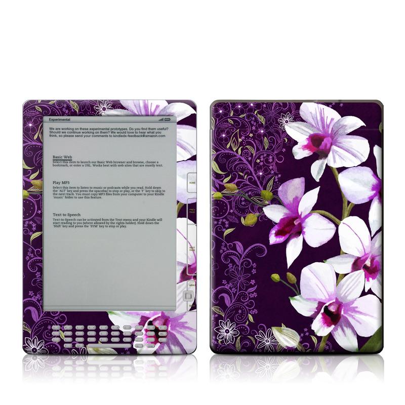 Violet Worlds Amazon Kindle DX Skin