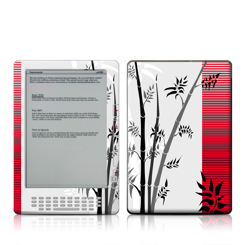 Zen Amazon Kindle DX Skin