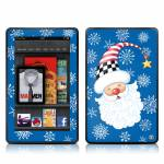 Santa Snowflake Amazon Kindle Fire Skin