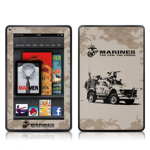 Artillery Amazon Kindle Fire Skin