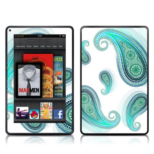 Azure Amazon Kindle Fire Skin