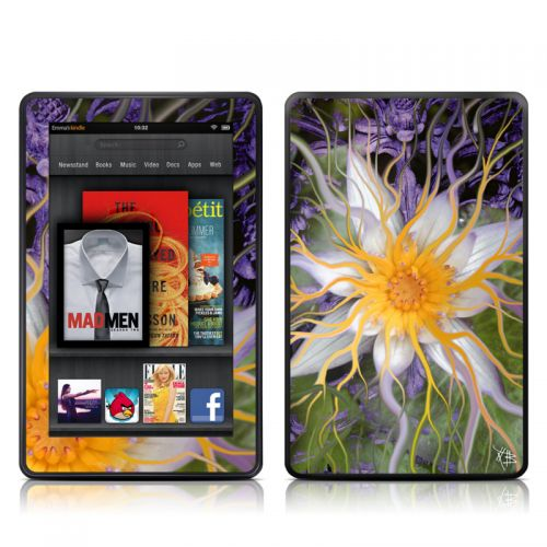 Bali Dream Flower Amazon Kindle Fire Skin