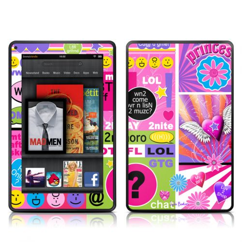 BFF Girl Talk Amazon Kindle Fire Skin