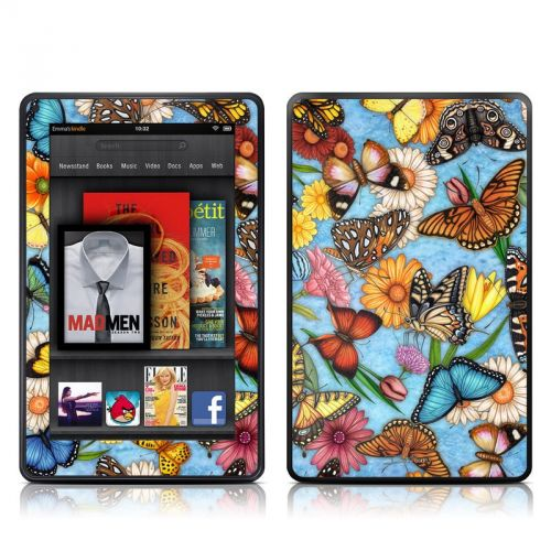 Butterfly Land Amazon Kindle Fire Skin