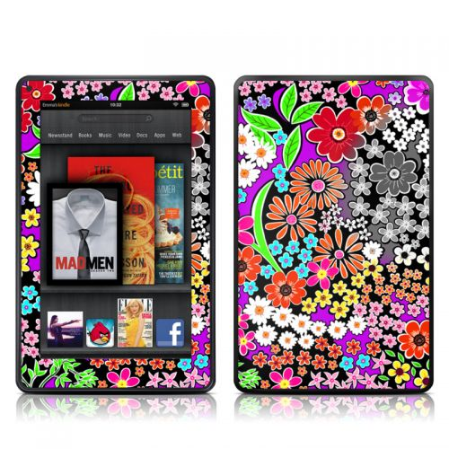 A Burst of Color Amazon Kindle Fire Skin