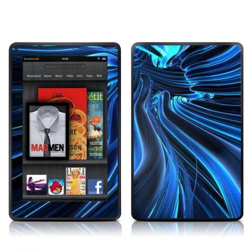 Cerulean Amazon Kindle Fire Skin