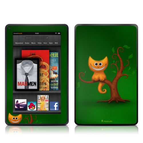 Cheshire Kitten Amazon Kindle Fire Skin