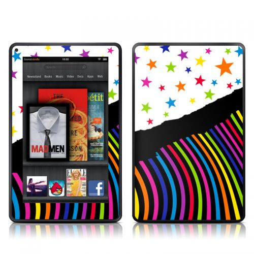 Color Wave Amazon Kindle Fire Skin