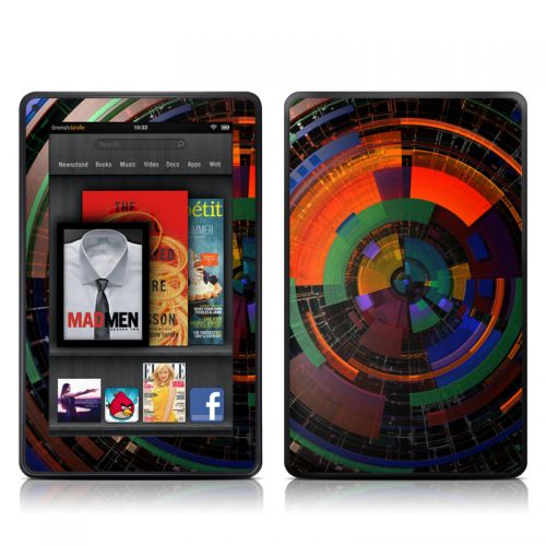 Color Wheel Amazon Kindle Fire Skin