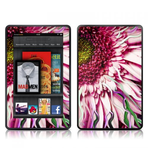 Crazy Daisy Amazon Kindle Fire Skin