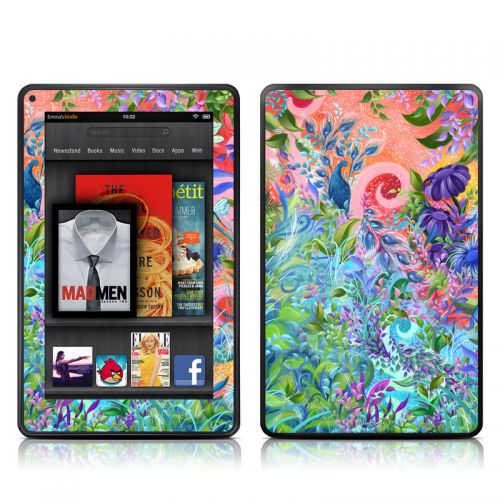 Fantasy Garden Amazon Kindle Fire Skin