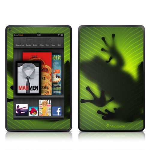 Frog Amazon Kindle Fire Skin