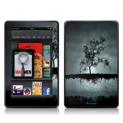 Flying Tree Black Amazon Kindle Fire Skin