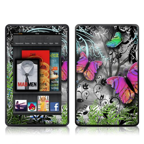 Goth Forest Amazon Kindle Fire Skin