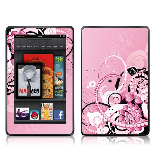 Her Abstraction Amazon Kindle Fire Skin