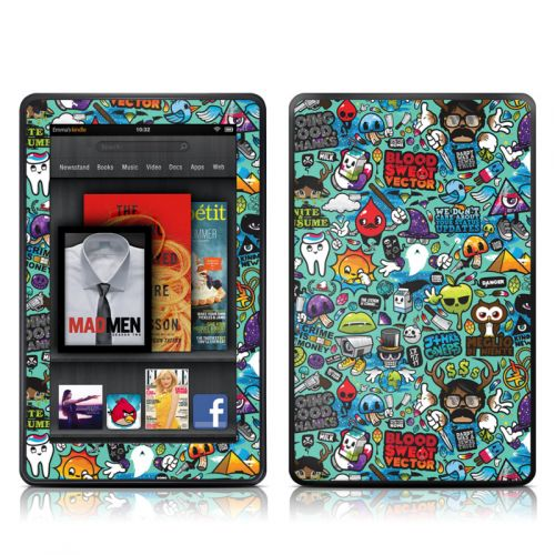 Jewel Thief Amazon Kindle Fire Skin