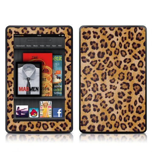 Leopard Spots Amazon Kindle Fire Skin