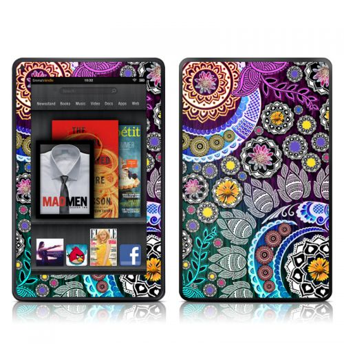 Mehndi Garden Amazon Kindle Fire Skin