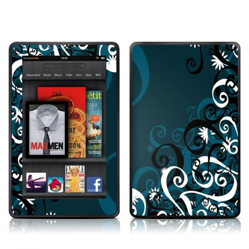 Midnight Garden Amazon Kindle Fire Skin