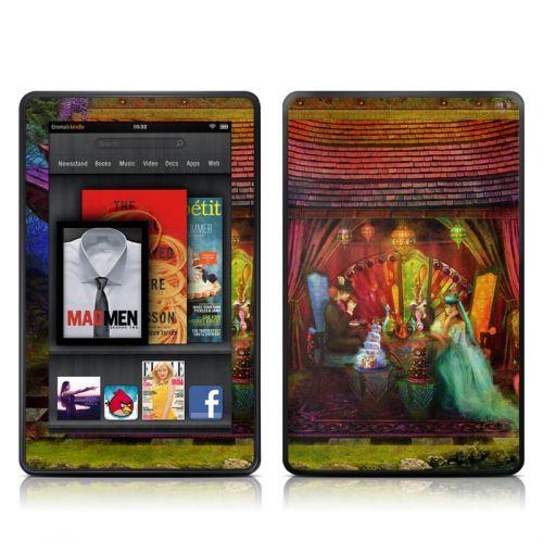 A Mad Tea Party Amazon Kindle Fire Skin