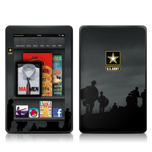 Night Action Amazon Kindle Fire Skin