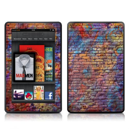 Painted Brick Amazon Kindle Fire Skin