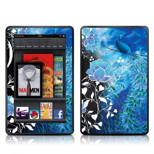Peacock Sky Amazon Kindle Fire Skin