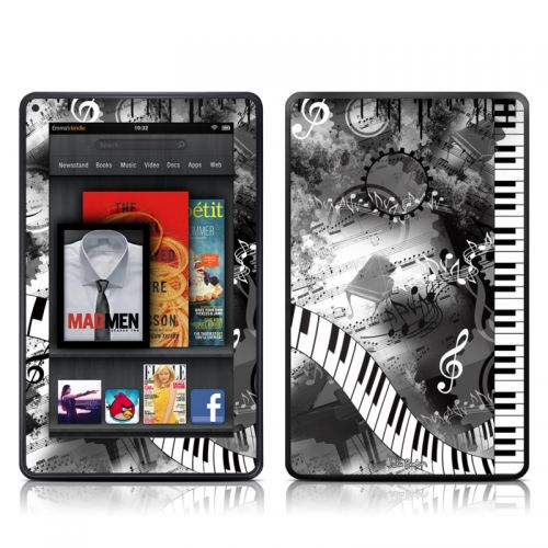 Piano Pizazz Amazon Kindle Fire Skin