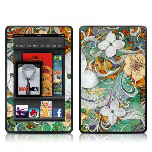Sangria Flora Amazon Kindle Fire Skin