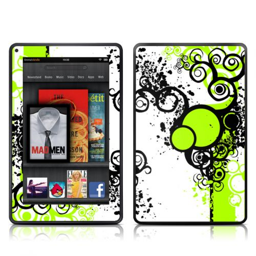 Simply Green Amazon Kindle Fire Skin