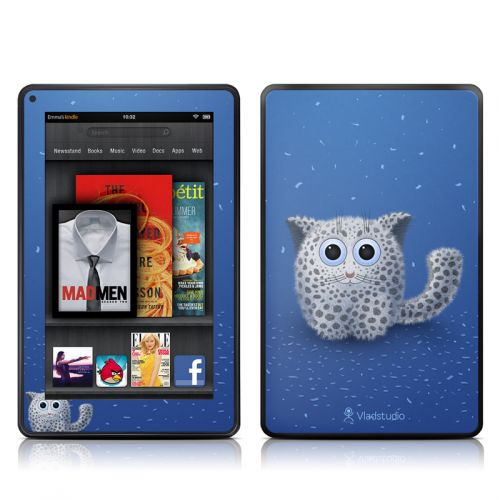 Snow Leopard Amazon Kindle Fire Skin
