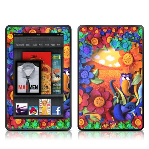 Summerbird Amazon Kindle Fire Skin