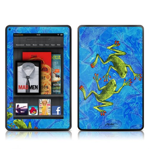 Tiger Frogs Amazon Kindle Fire Skin