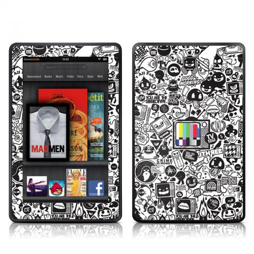 TV Kills Everything Amazon Kindle Fire Skin