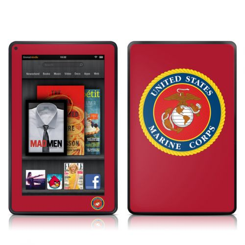 USMC Red Amazon Kindle Fire Skin