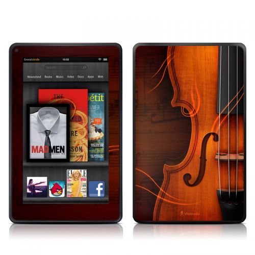 Violin Amazon Kindle Fire Skin