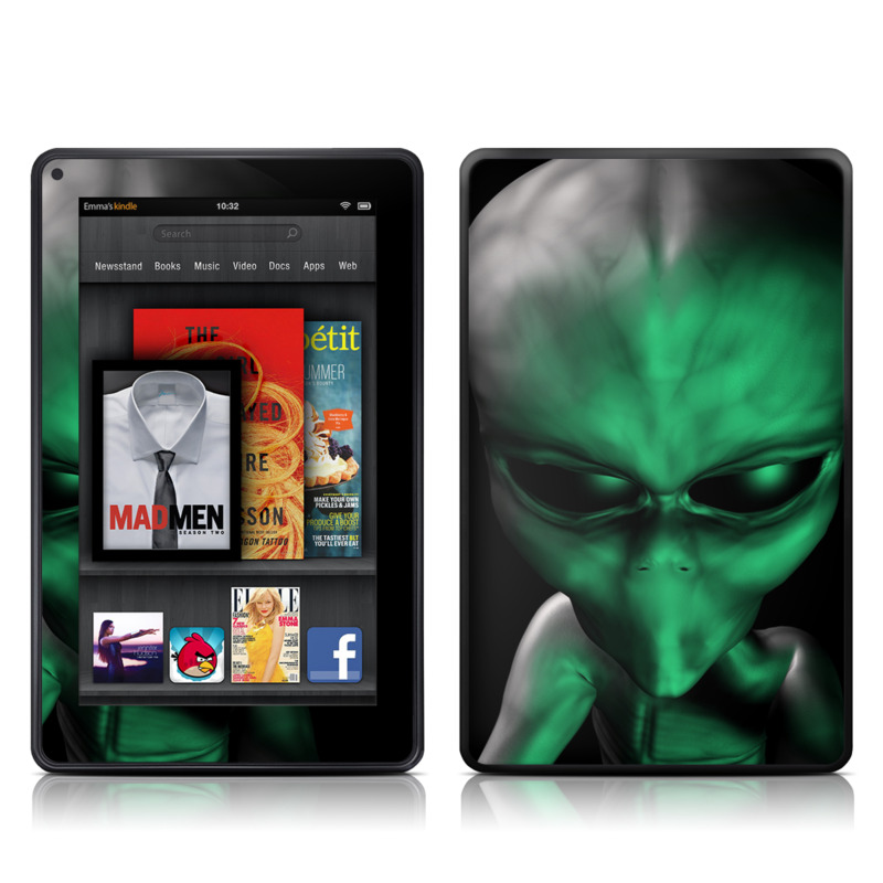 Abduction Amazon Kindle Fire Skin