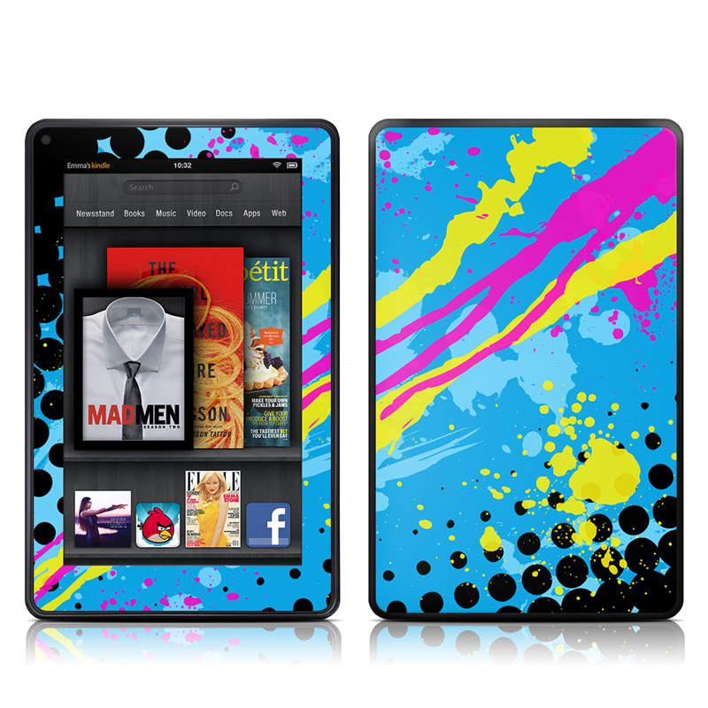 Acid Amazon Kindle Fire Skin