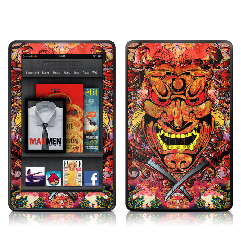 Asian Crest Amazon Kindle Fire Skin