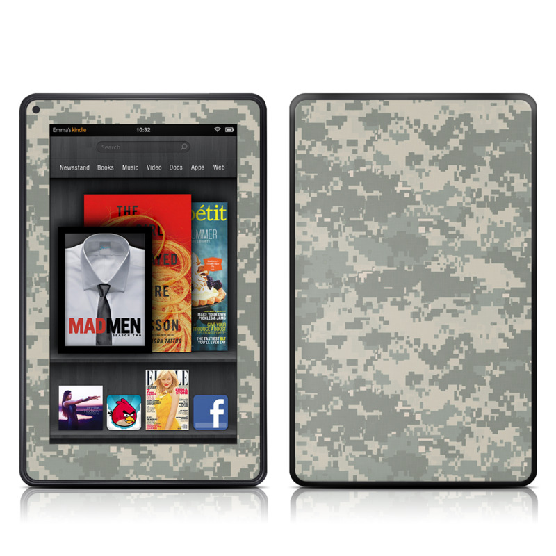 ACU Camo Amazon Kindle Fire Skin