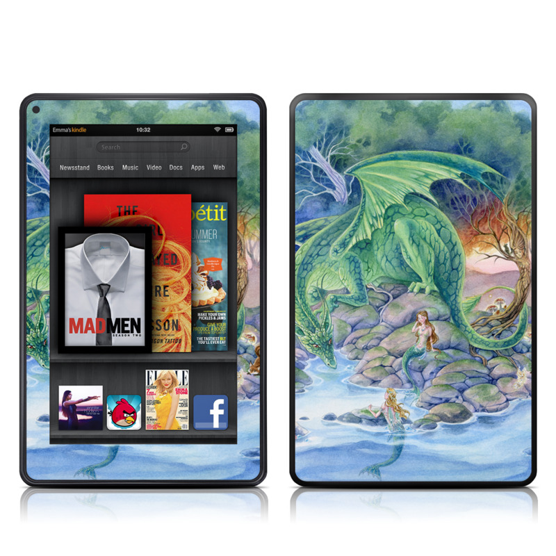 Of Air And Sea Amazon Kindle Fire Skin